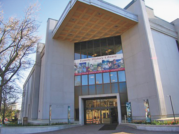 Trace family roots at world's largest genealogy library