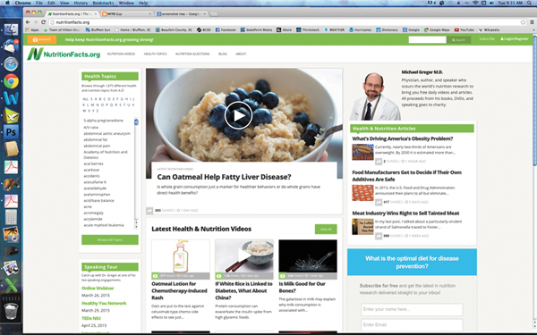 Online sources abound for whole food, plant-based eating