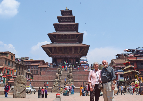Local travelers to Nepal worry for friends in quake areas
