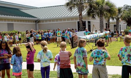Local art campers create world's longest artists' brush