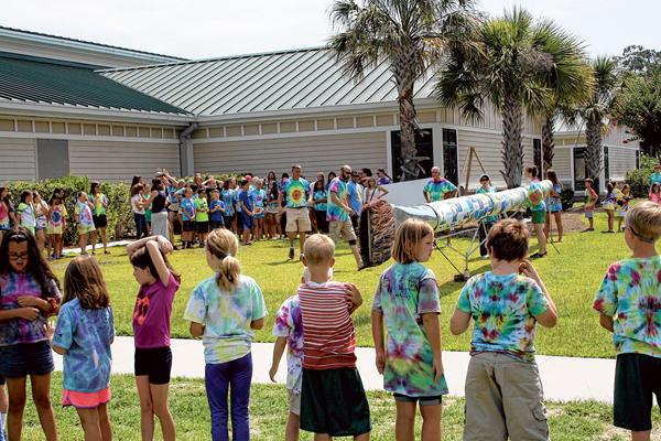 Local art campers create world's longest artists' brush