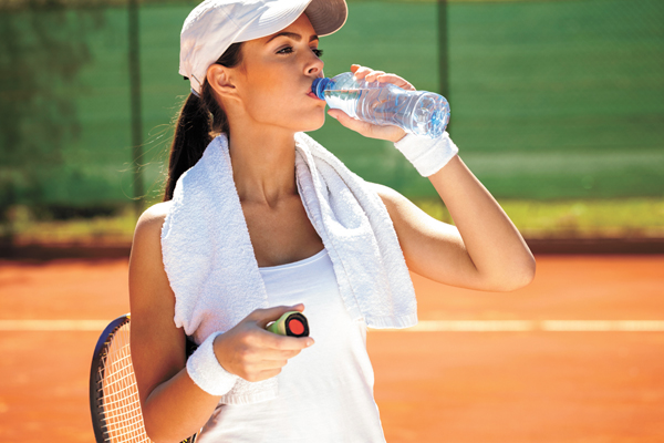 Protect yourself from heat-related maladies while active