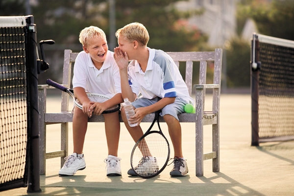 Tennis and children: What age to get them in the game