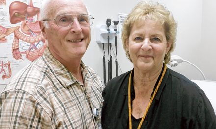 Retired couple finds joy  in helping others