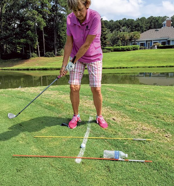 Use golf teaching aids you already have at home