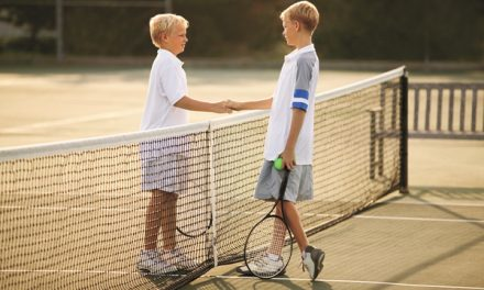 Tennis helps kids excel on the court and in the classroom