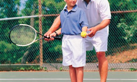 At what age should children be getting into tennis?