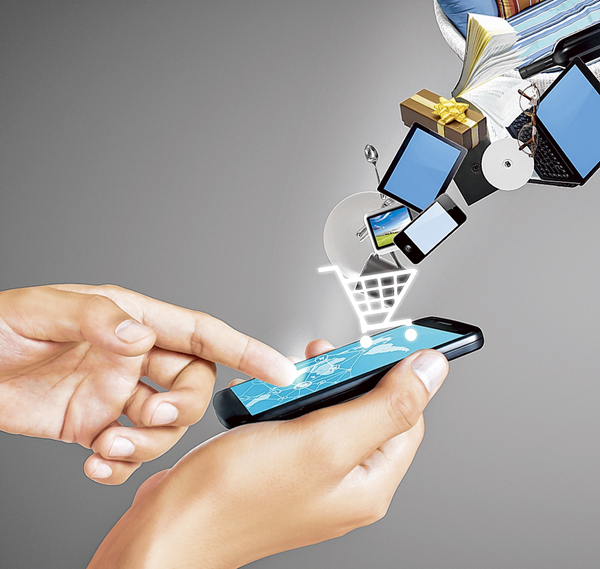 Online shopping numbers increasingly on the rise