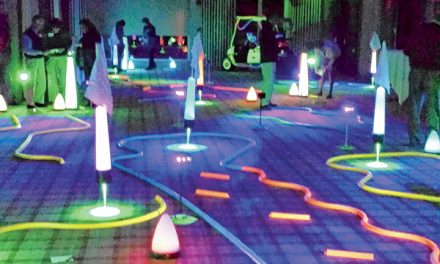 Want to play a round in the dark? Try Glow Golf
