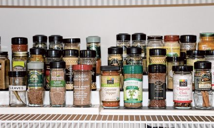 Spice up your meals with flavor, healthy nutrients