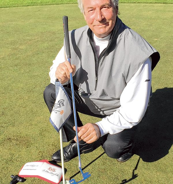 Innovative adjustable loft putter now available locally