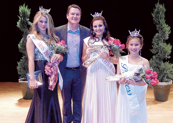 Local beauties named  winners in local pageant