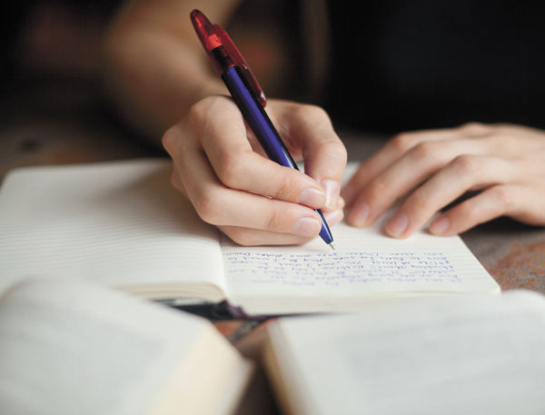 Journal your way to health and happiness