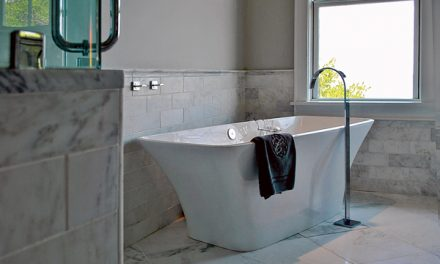Consider these trends for remodeling a dated bathroom