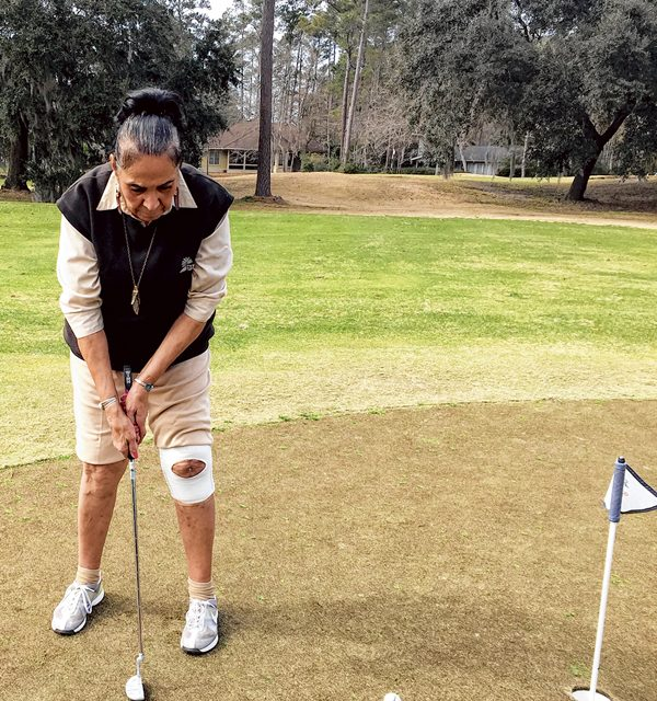 You can still play good golf with physical limitations