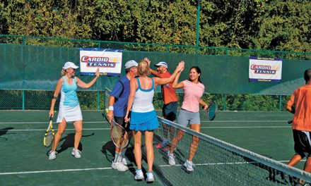 Cardio Tennis combines workout with best features of game