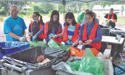 Annual river cleanup, Earth Day strive for zero waste