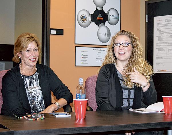 Businesswomen share secrets of their success