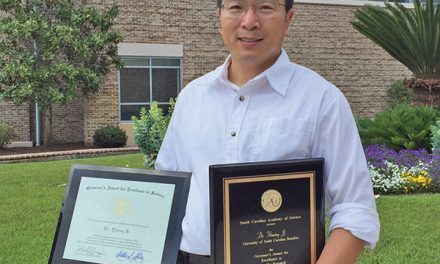 USCB professor honored with Governor's Award