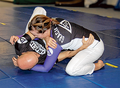 Training in Jiu Jitsu and Krav Maga leads to active lifestyle