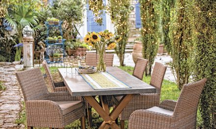 Create memorable moment in a new outdoor room