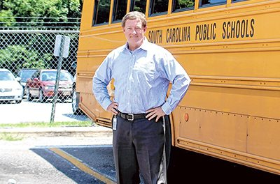 New school bus director excited to return to district