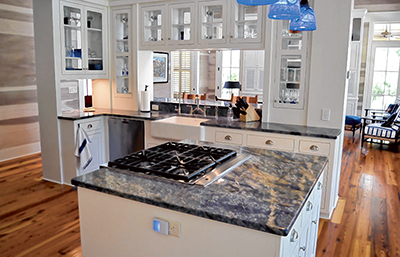 Enhance your kitchen with a practical, beautiful island