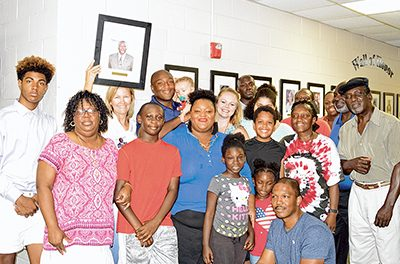 Town's late poet laureate, councilman added to Wall of Honor