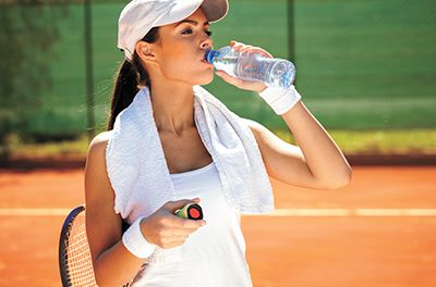 The heat is on; stay hydrated to keep cool, be healthy