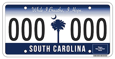 New S.C. license plates coming your way