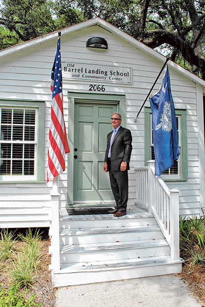 Old schoolhouse gets  second chance as office