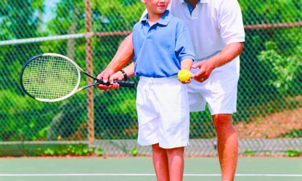Start kids early to enjoy tennis for a lifetime