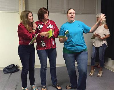 Squabbling sisters, surly Santa, Elvis bring holiday hilarity