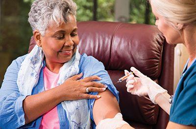 Trivalent flue shot protects seniors from flu virus