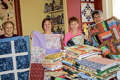 Love of quilting, helping others, binds group together