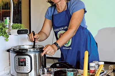 Cooking under pressure makes for quick, easy meals