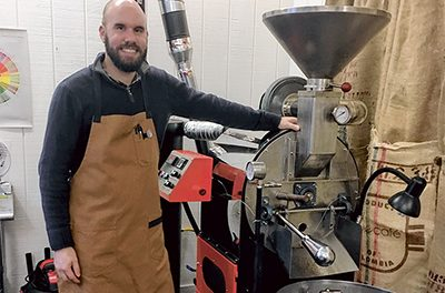 Wake up and smell The Grind's custom-blended coffee