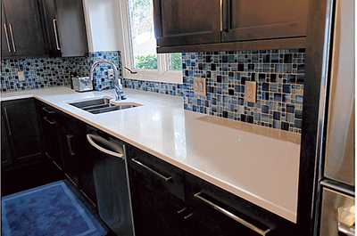 Quartz becoming popular choice for durable countertops
