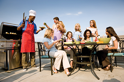 Food choices for getting together with family
