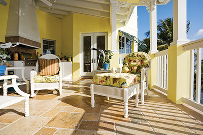 Outdoor space should compliment interiors