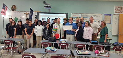 Foundation for Educational Excellence presents grants
