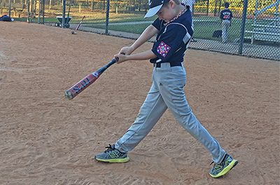 Easy method helps kids focus on hitting a baseball