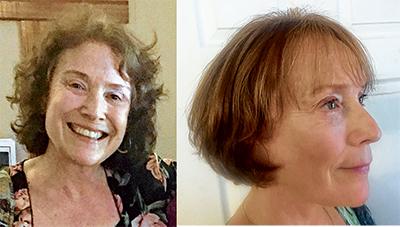 From untamed curls to a sleek, stylish bob