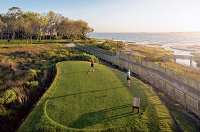 Escape to Haig Point for a day of golf in a natural setting
