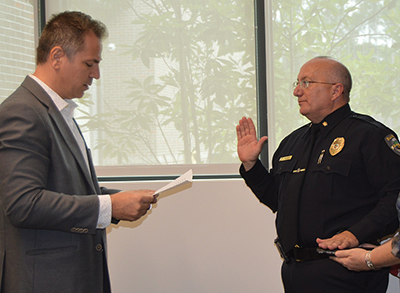 New police chief: Community involvement key to success