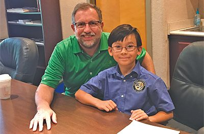 Local grade-schooler breaks into national journalism
