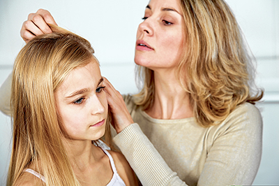 Back to school? Prepare for possibility of head lice