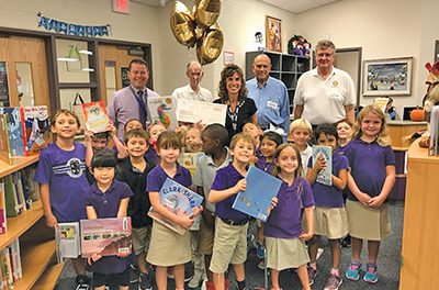 Local teachers surprised with grant awards Oct. 12