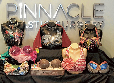 Student art for BRA Project raises breast cancer awareness