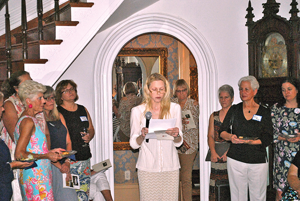DAR honors White with history award